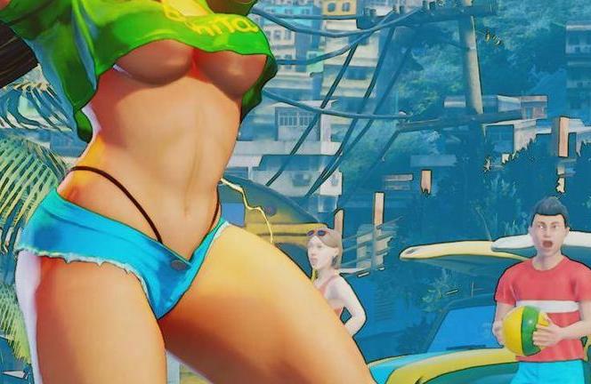 Street Fighter Laura Hot
