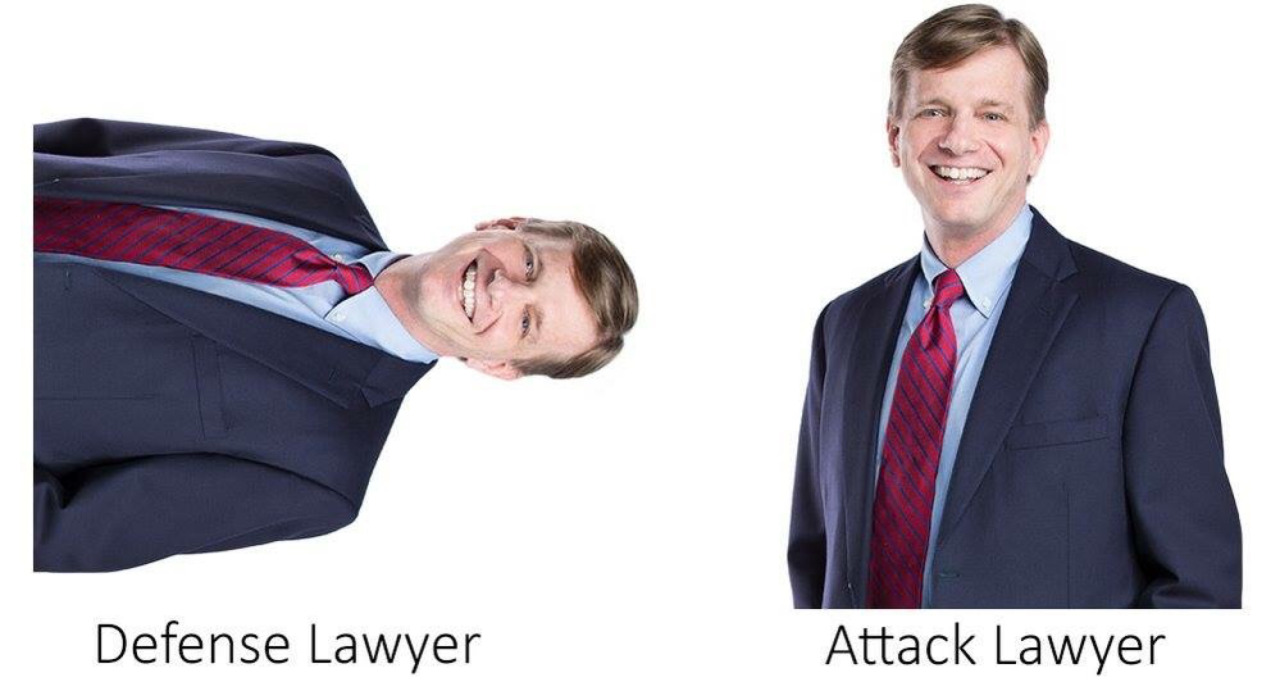 Defense Lawyer Attack Lawyer Yu Gi Oh Know Your Meme