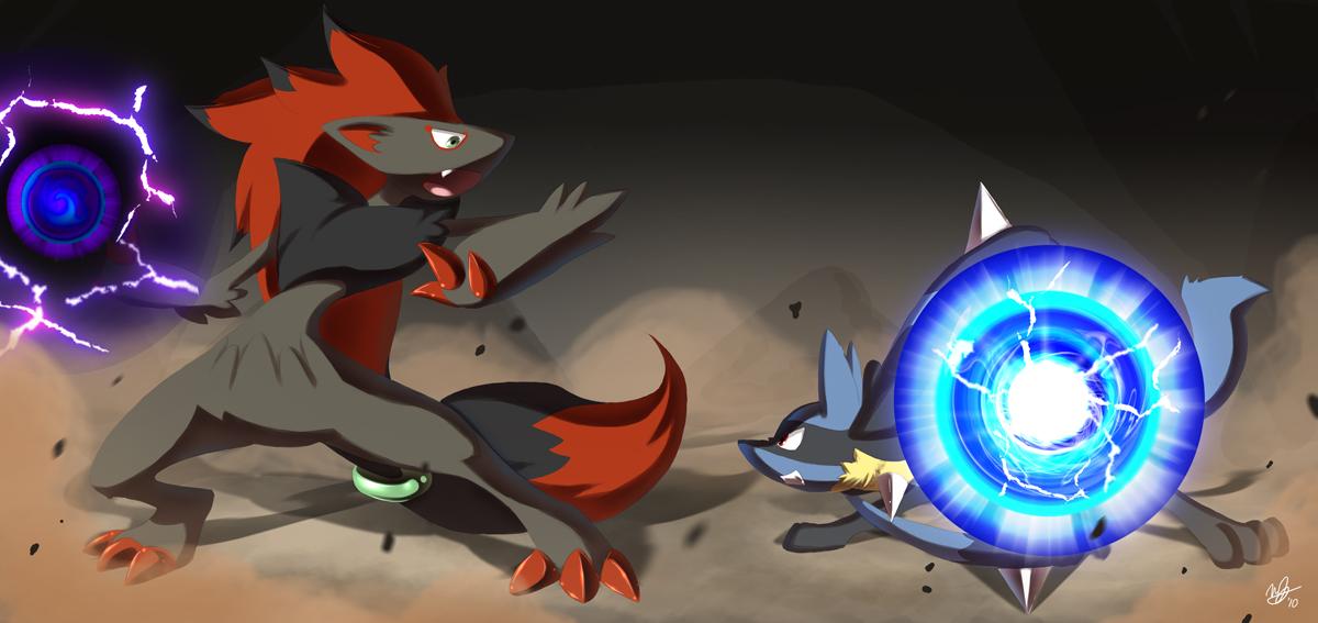 Lucario Vs Zoroark Pokémon Know Your Meme