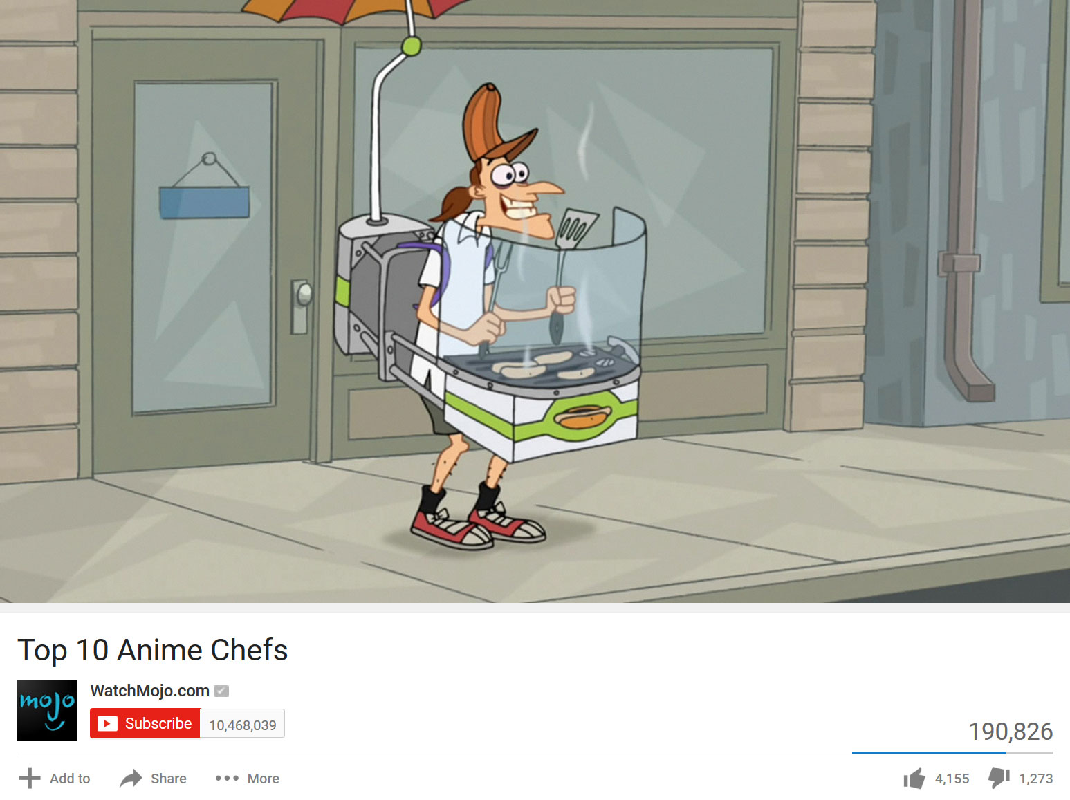 Top 10 anime chefs watchmojo com subscribe mojo 10468039 190826 add to share more 4155