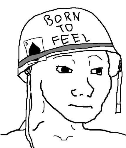 feel to the bone wojak feels guy know your meme