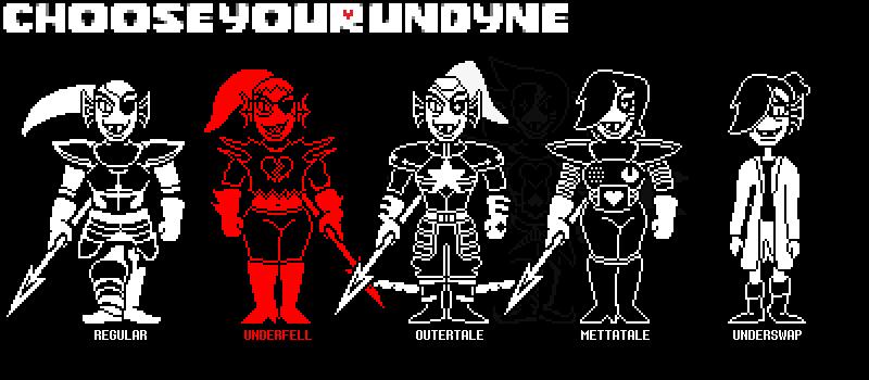 Choose Your Undyne Battle Sprite Edition Undertale Know Your Meme