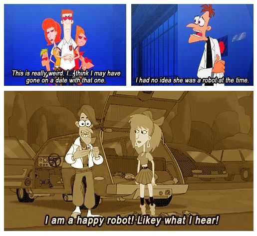 212 robots phineas and ferb know your meme