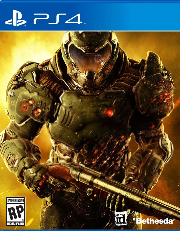 Blank Cover To Make Your Own Doom 2016 Cover Art Parodies Know