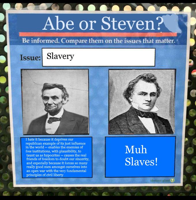 e2e abe or steven? bernie or hillary? know your meme