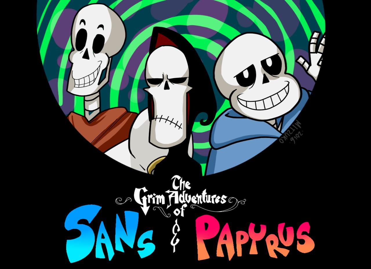The Grim Adventures of Sans and Papyrus   Undertale   Know Your Meme