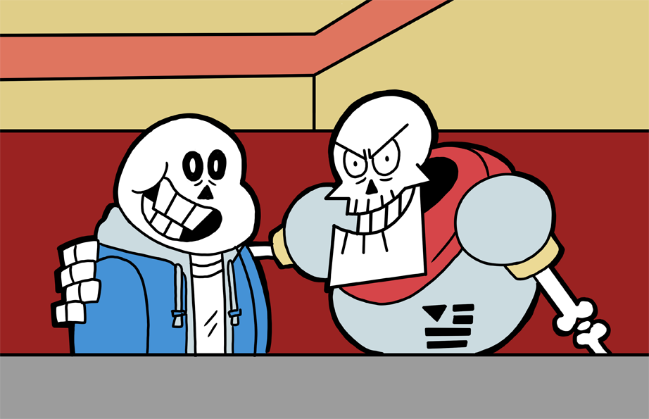 Halloween With Sans And Papyrus Undertale Know Your Meme