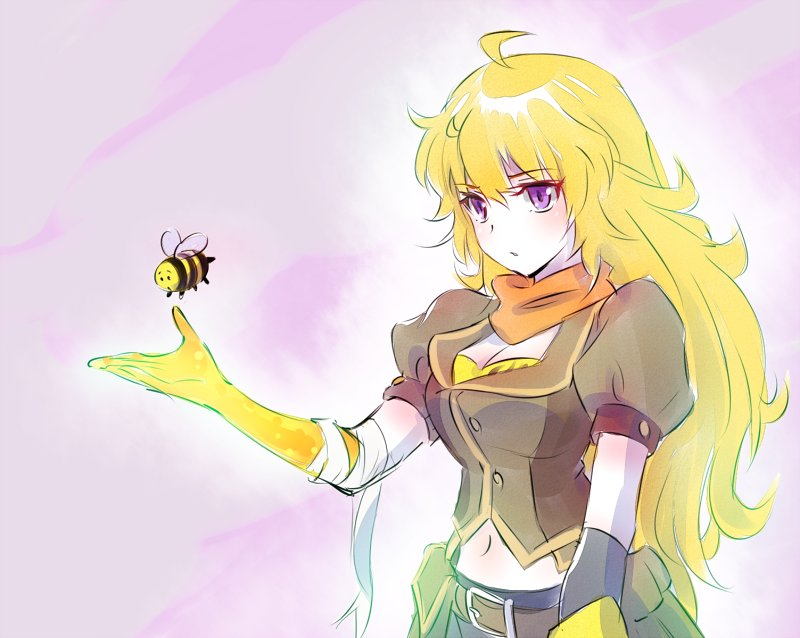 Yang And A Bee Rwby Know Your Meme