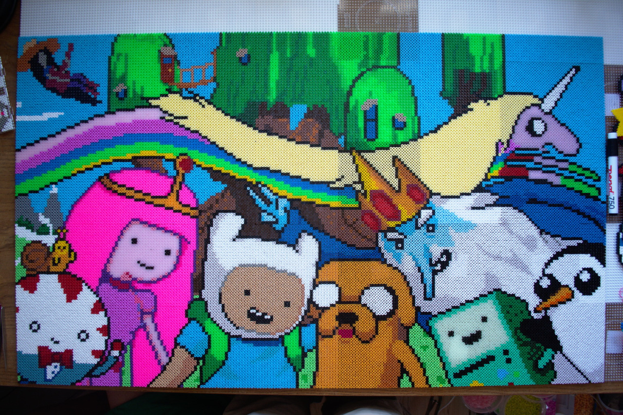 Adventure Time Bead Art Know Your Meme