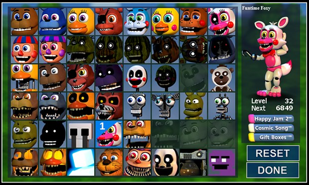 FNaF World Updated Roster | Five Nights at Freddy's | Know