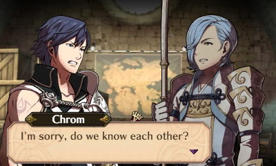 the joke is that they share the same english voice actor fire