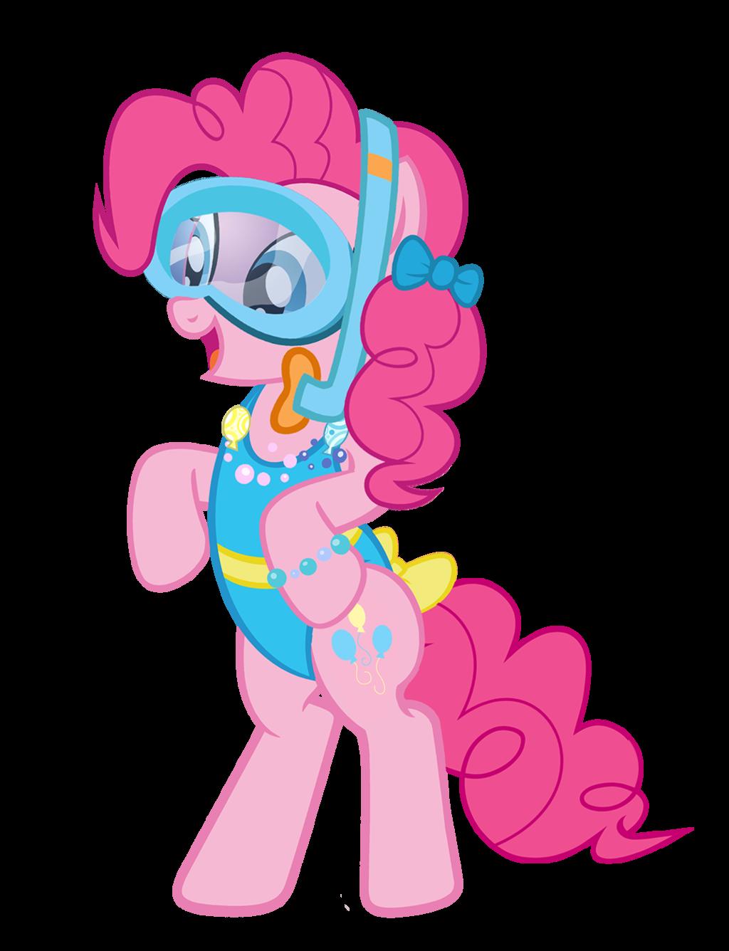 beach blanket party horse by pixelkitties my little pony
