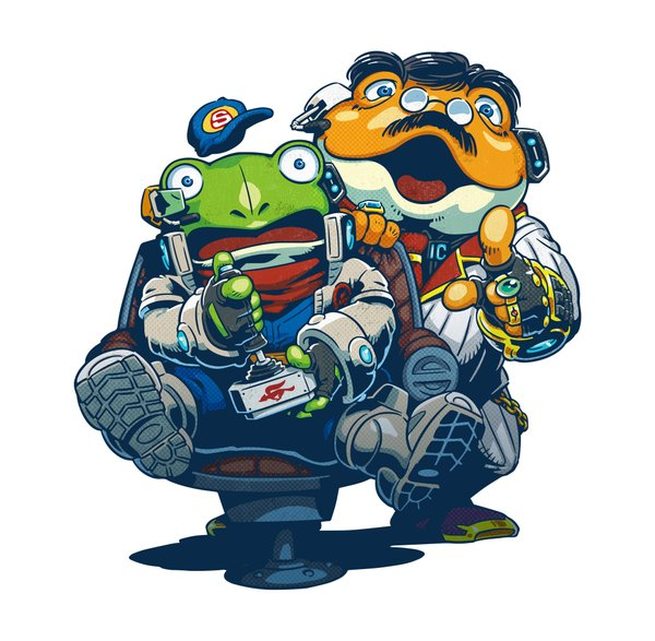 Slippy And Uncle Grippy Star Fox Know Your Meme