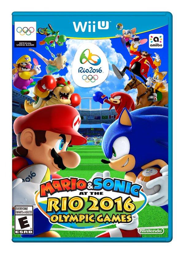 wiiu amiibo rio2o16 at the everyone olympicgames olympig esrb