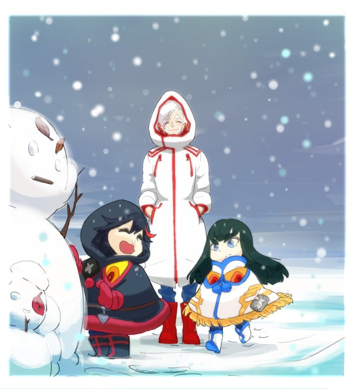 Snow Girls | Kill la Kill | Know Your Meme