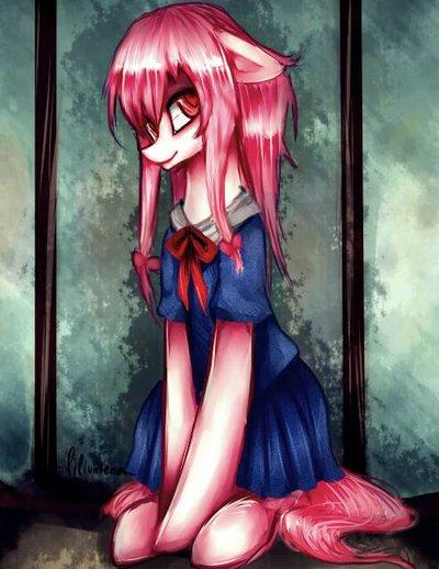 Pinkie Pie Yuno Gasai Rarity Anime Human Hair Color Black Fictional Character Mangaka Cg Artwork