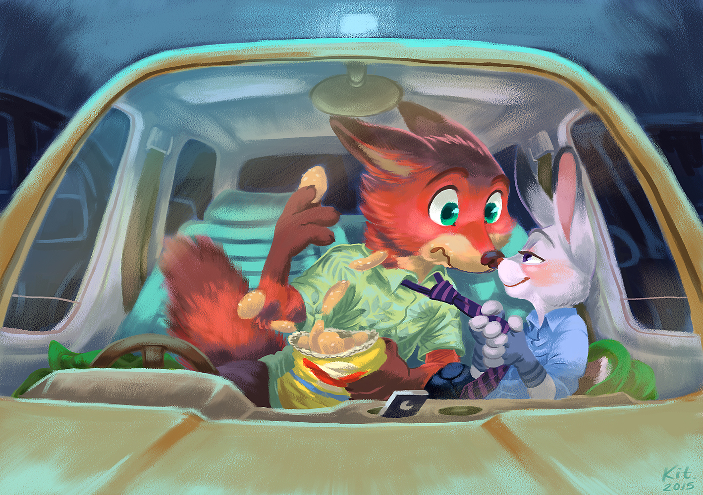 Super Drive In Movie Fanart by Kit-Ray-Live | Zootopia | Know Your Meme IT92
