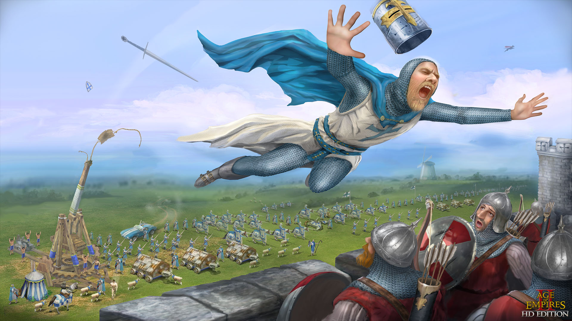 Age of Empires II siege wih cobra car | Age of Empires Cobra Car