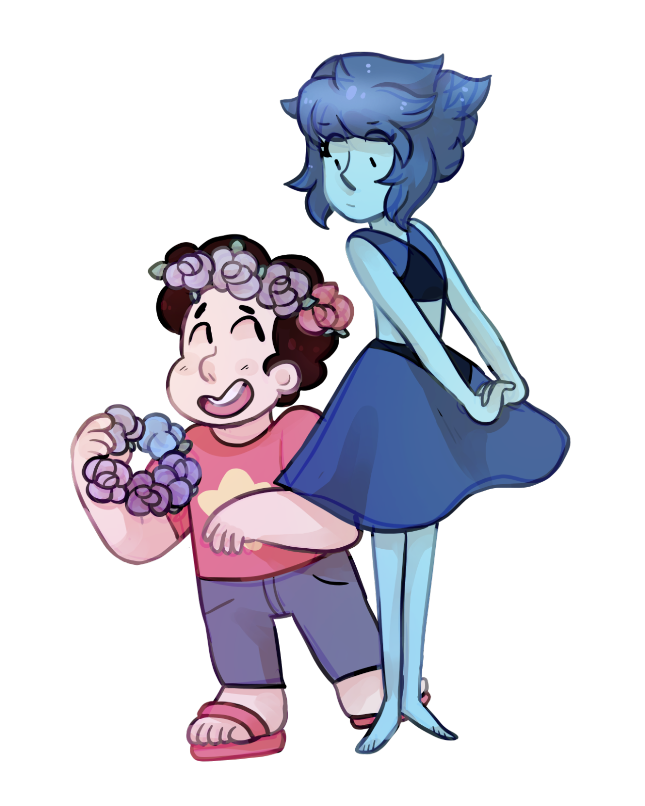 Lapis Learns About Flower Crowns Steven Universe Know Your Meme
