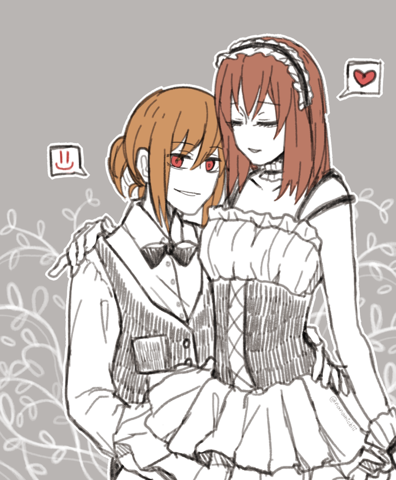 Butler Chara and Frisk Maid | Undertale | Know Your Meme