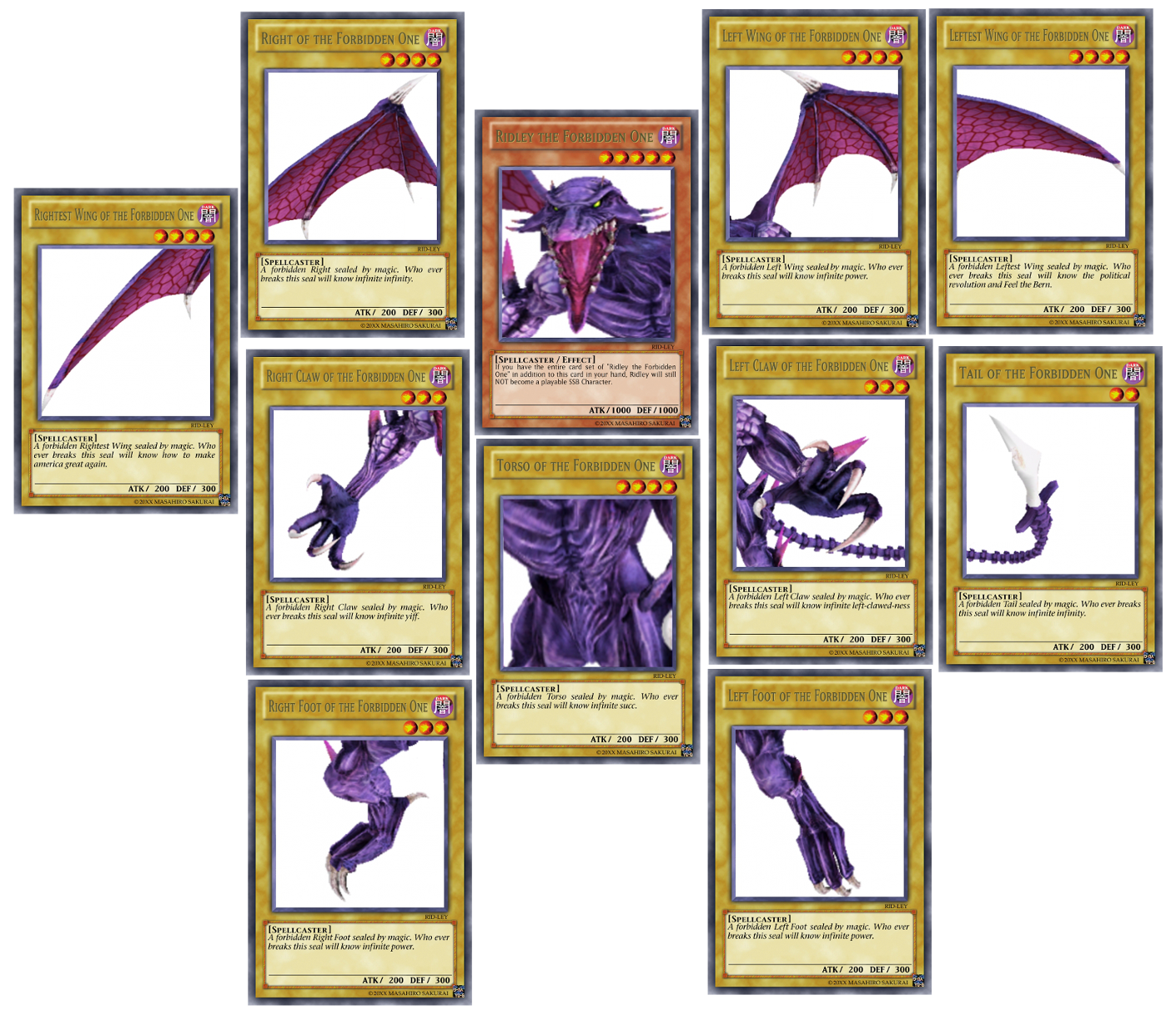 Ridley The Forbidden One Exodia The Forbidden One Know Your Meme