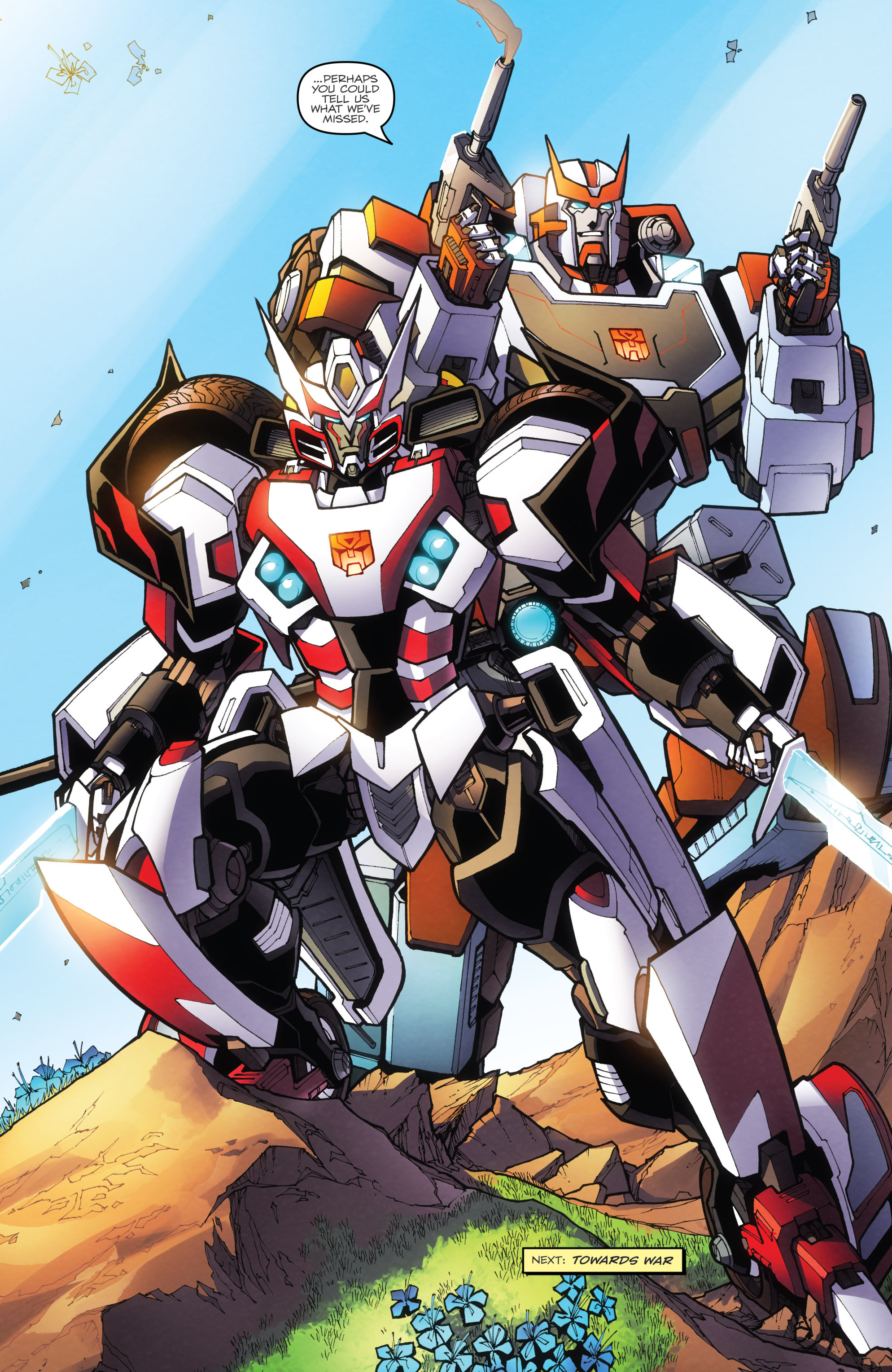 ratchet and drift return from empire of stone with new looks