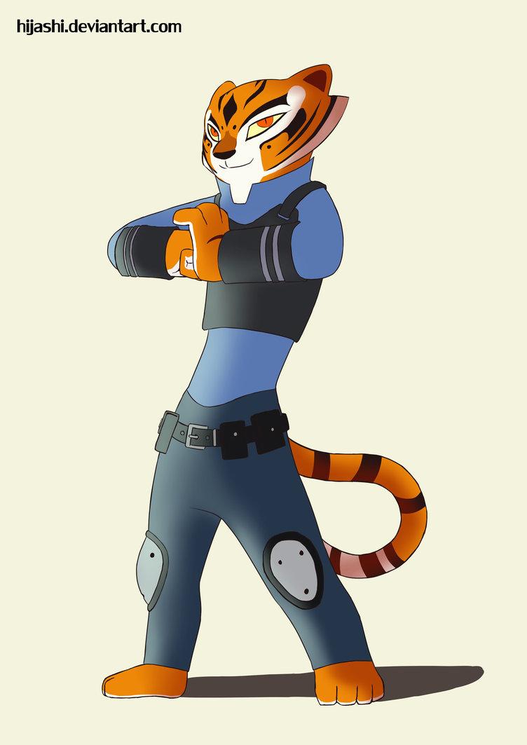 kung fu panda + zootopia: tigress | know your meme