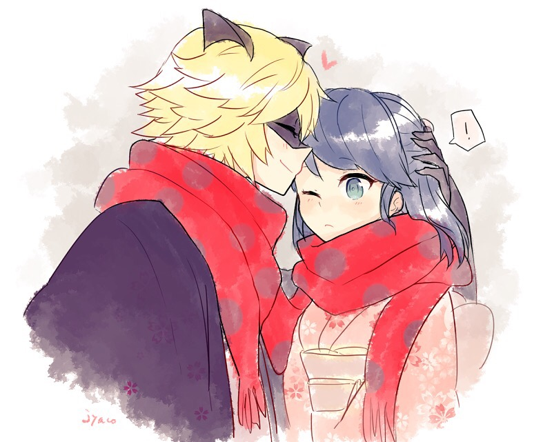 Marichat New Years Miraculous Ladybug Know Your Meme