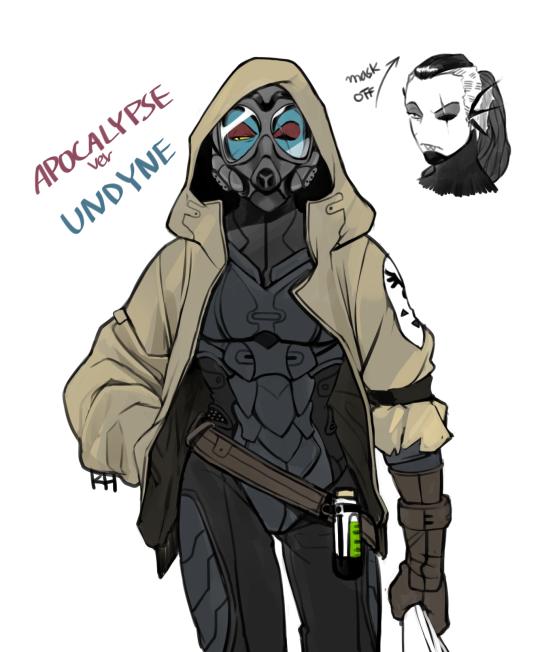Apocalypse Undyne | Undertale | Know Your Meme