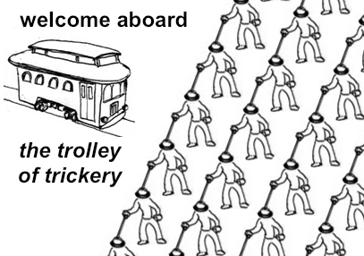 Trolley Of Trickery The Trolley Problem Know Your Meme
