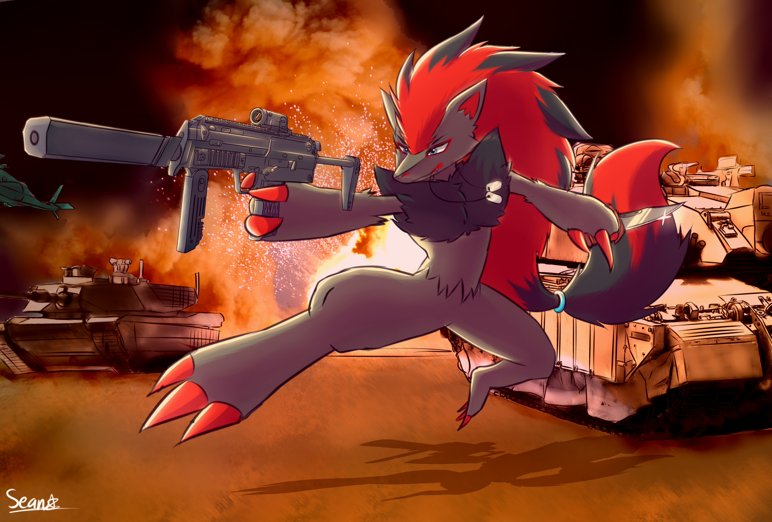 Shadow The Zoroark Pokémon Know Your Meme