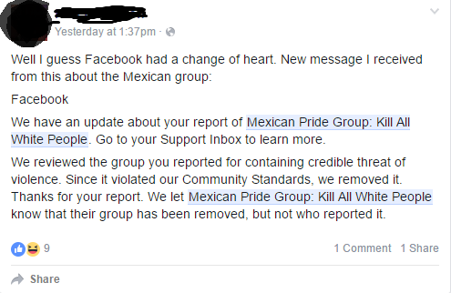Apparently the group was pulled down | Facebook | Know Your Meme