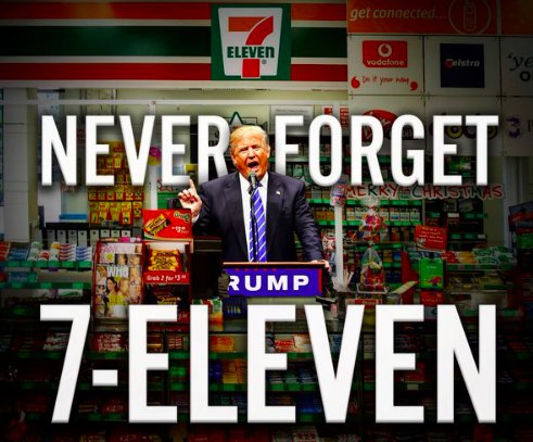 ff5 7 11 donald trump's 7 eleven gaffe know your meme
