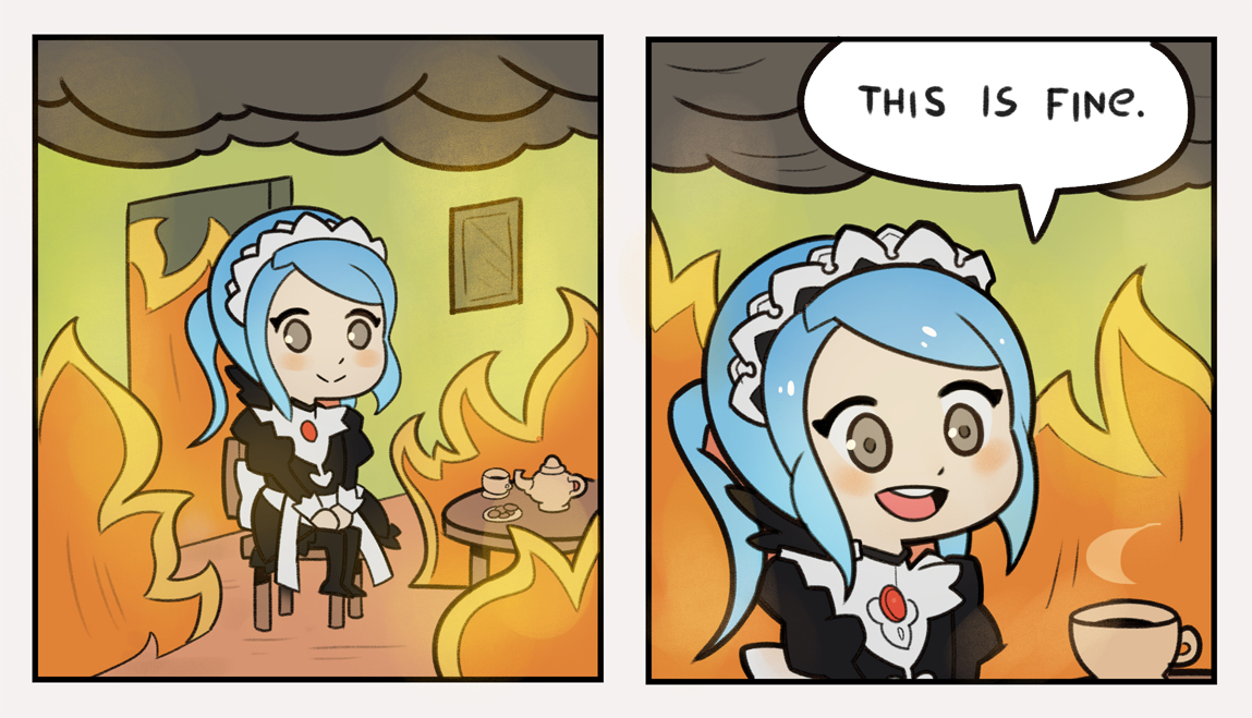Image result for fire emblem flora this is fine