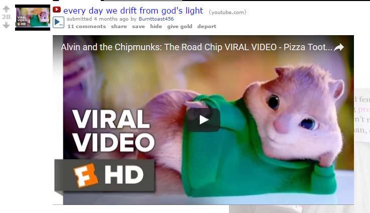 Alvin And The Chipmunks Everyday We Stray Further From God S Light Know Your Meme Definition of a meme / memetics. everyday we stray further