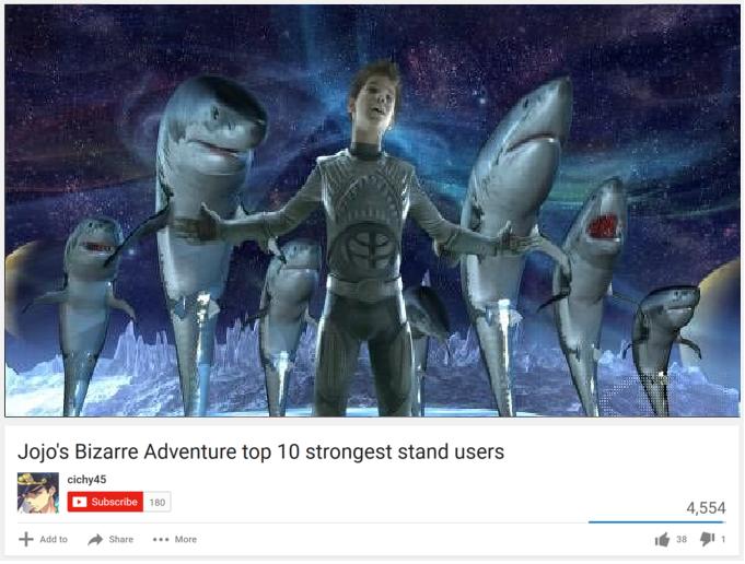 JoJo's Bizarre Adventure Top 10 Strongest Stand Users | Top