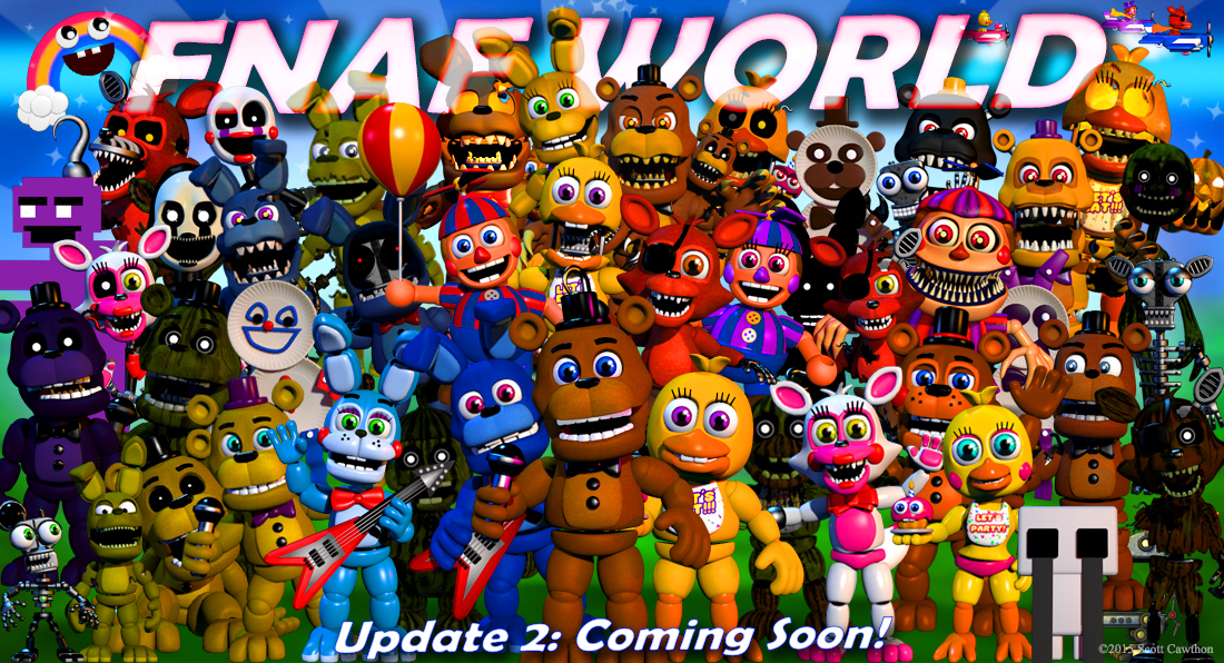 five nights at freddys adventure