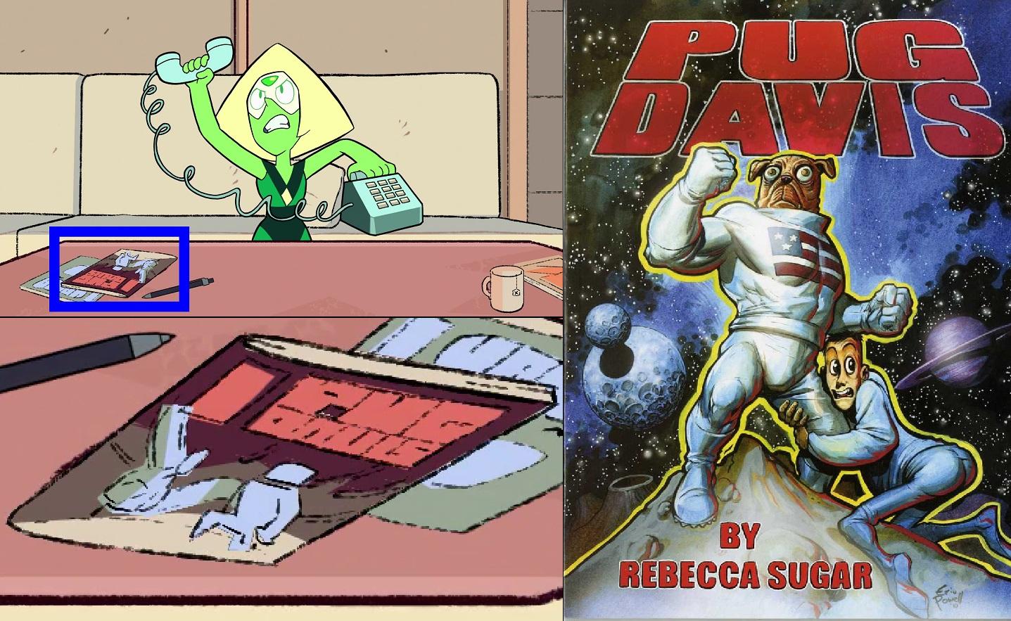 Sucrose S Old Comic Pug Davis In Back To The Barn Steven Universe