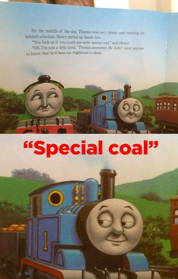 Special Coal Thomas The Tank Engine Know Your Meme