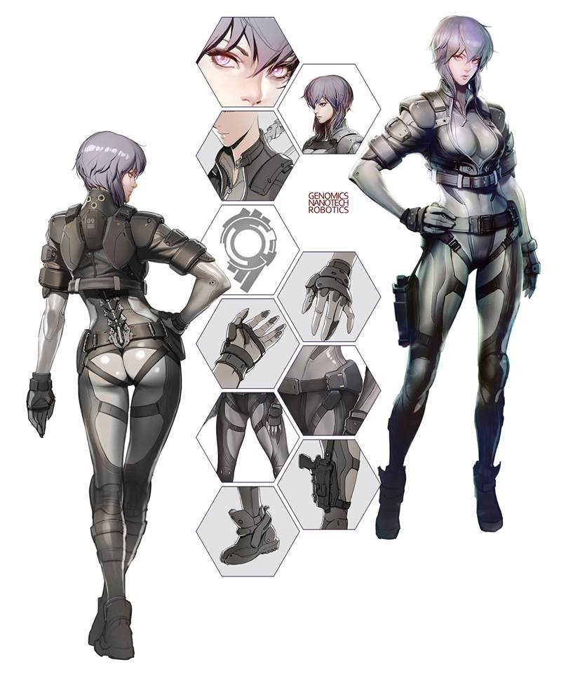 Gits Sac First Assault Motoko Concept 1 Ghost In The Shell Know Your Meme
