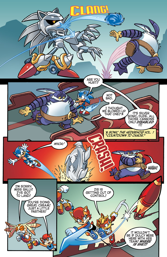 sth 281 preview page 2 archie sonic comics know your meme