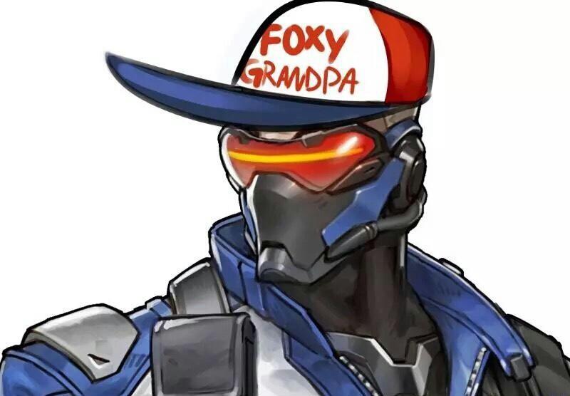 24109b14bb4 Overwatch - Foxy Grandpa