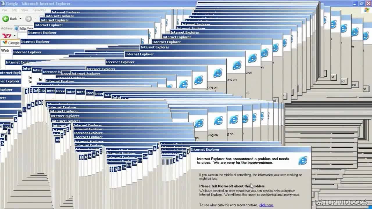 Why the Internet crashes 95