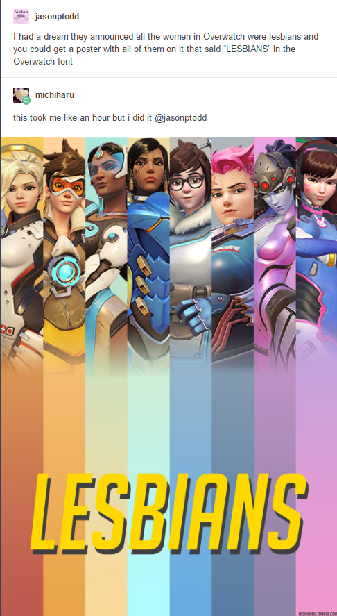 Overwatch lesbians with sound