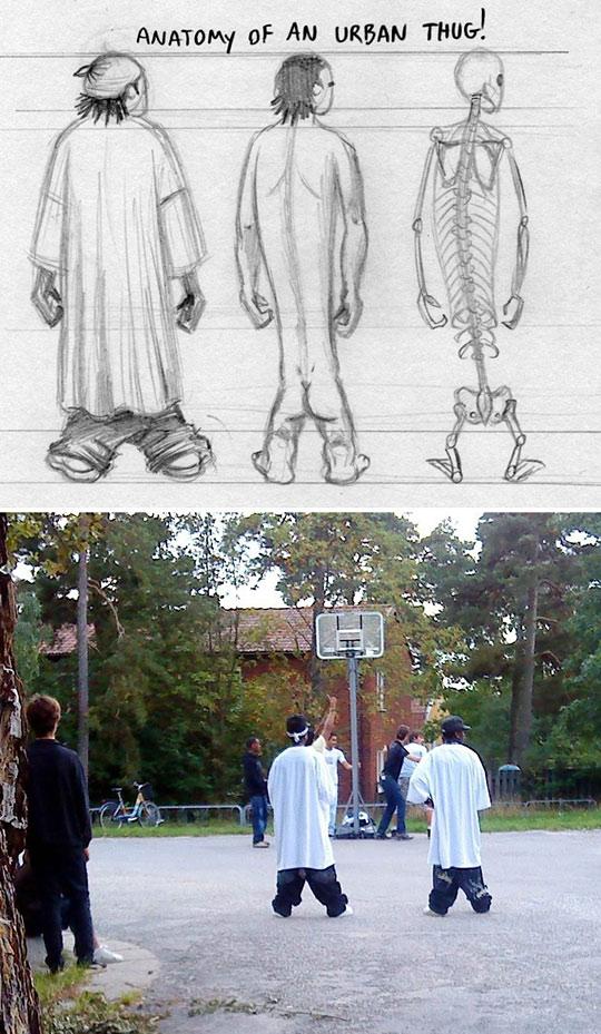 Anatomy Of An Urban Thug Thug Life Know Your Meme