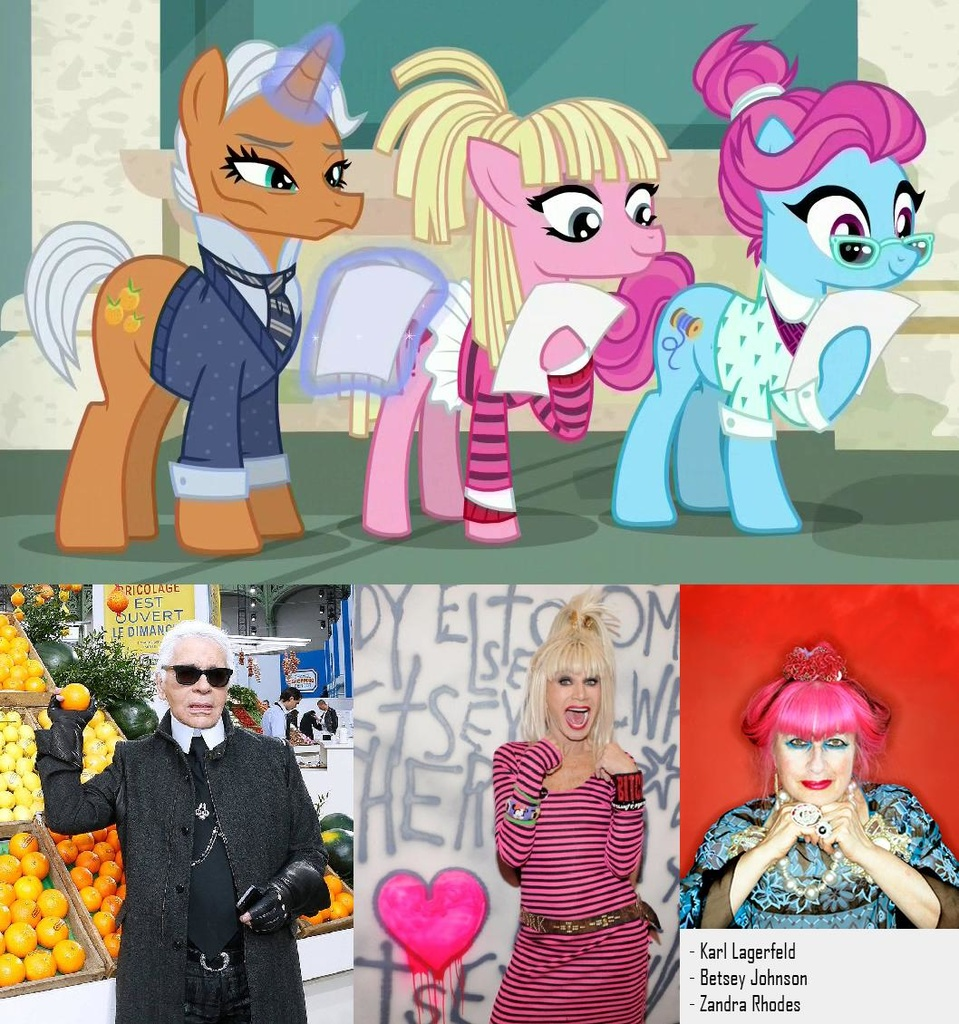 fashion ponies | My Little Pony: Friendship is Magic | Know Your Meme