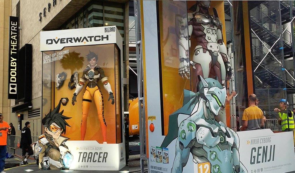 OVERWATCH LIGHT UP CHRONAL ACCELERATOR DVERWAICH AGENT TRACER NINA CYBORE