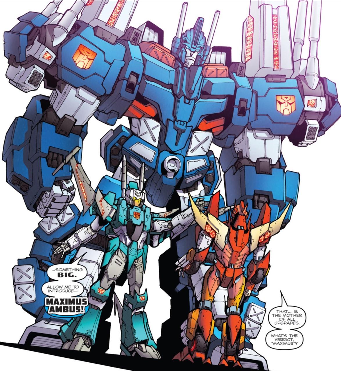 Maximus Ambus Transformers Know Your Meme