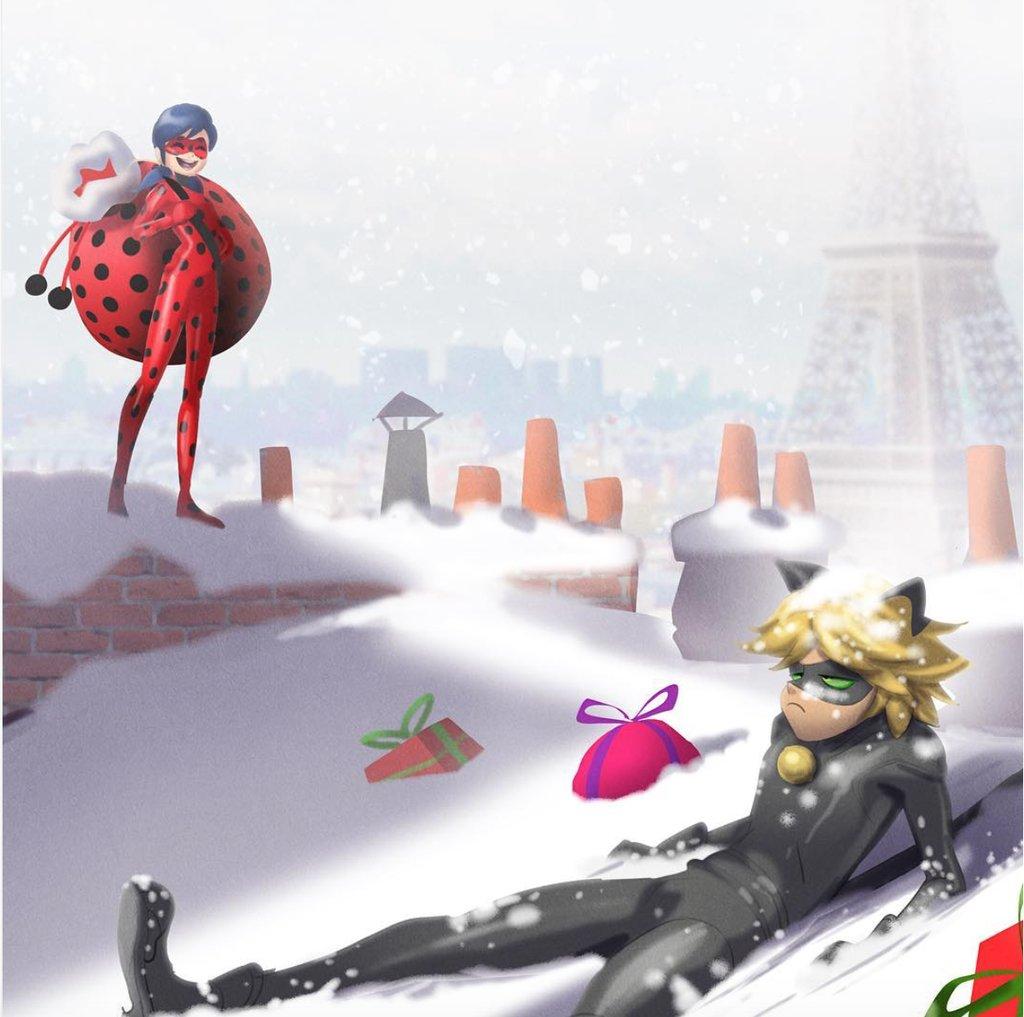 Miraculous Ladybug Christmas Special.Miraculous Ladybug Season 2 Christmas Special Concept Art