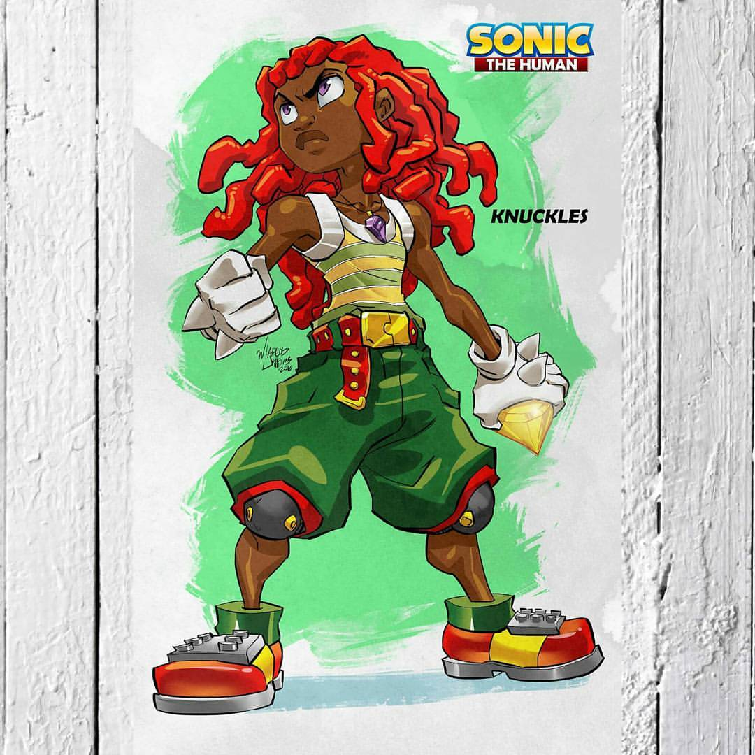 Wayne Knuckles Cosplay On Point Sonic The Hedgehog Know Your Meme